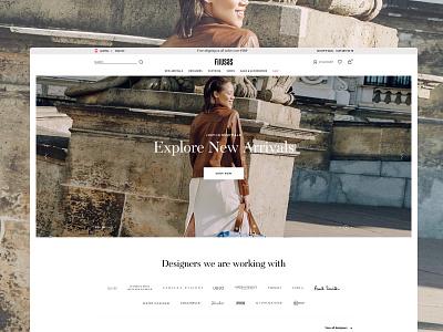 Firusas eCommerce design