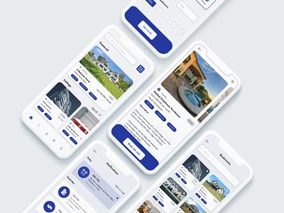 Real Estate Listings App ui design ui property listing real estate
