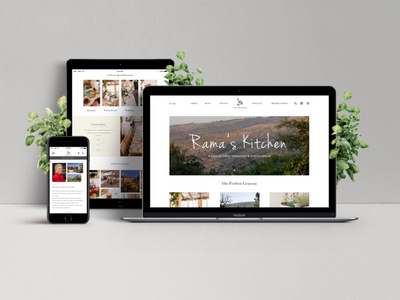 Responsive Web Design - Rama's Kitchen Restaurant
