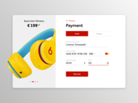 Daily UI 002 — Credit card checkout