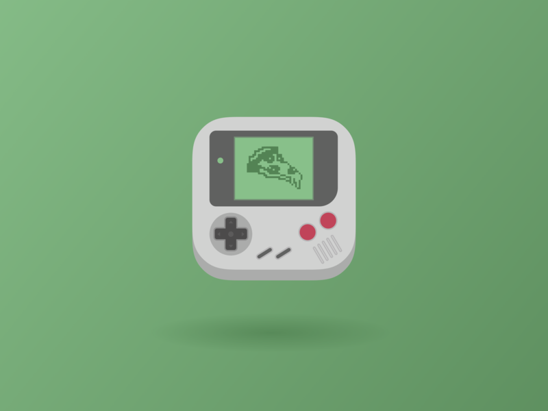 Daily UI 005 — App icon pizza gameboy dailyuichallenge dailyui daily challenge ui app icon icon app