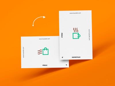 Buy it & Enjoy it - Coffee Shop Presentation cards