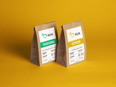 Kua - Coffee Shop Branding