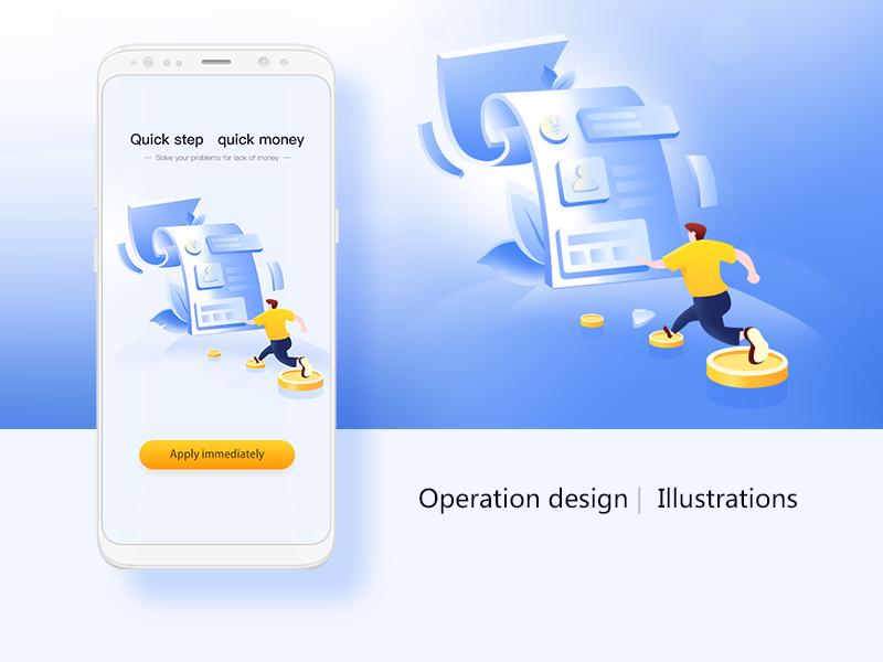 Operation design |  Illustrations illustration ui