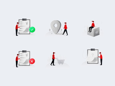 缺省页插画Default page illustration