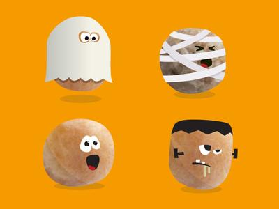 Donut Holes Halloween