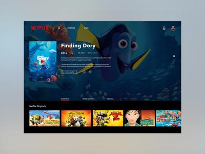 Daily UI - Netflix