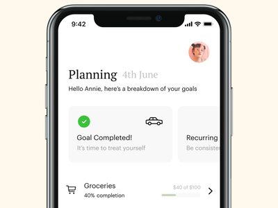 Looking for a better way to save money? design banking bank app  design ui ios apple ux app daily ui