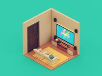 Tiny Room TWO