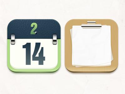 Calendar&Notepad Icon