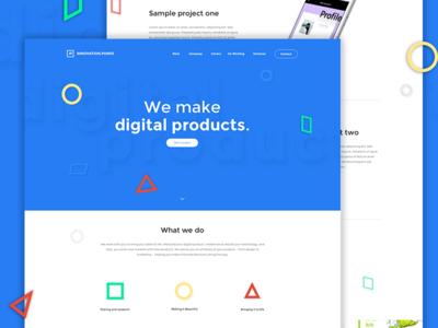 Innovation Punks - Digital Agency Website