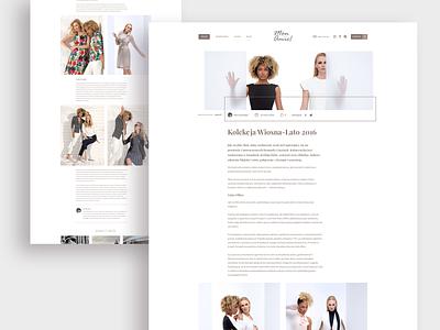 MonAmie! - e-commerce platform | Blog woman minimal clean fashion brand fashion design fashion composition font text typography article blog