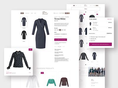 MonAmie! - e-commerce platform | Shop woman fashion brand fashion order process shop e-commerce