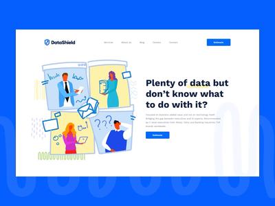 DeltaShield - Big Data Company | Hero Animation