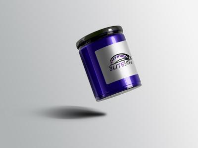 Glass Jar Mockup for Elite Car Care