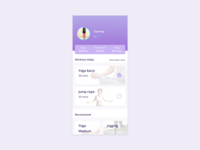 Daily UI 041 Workout Tracker