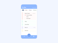 ToDo List | Daily UI 042