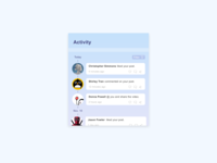 Activity Feed | Daily UI 047