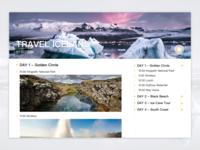 Itinerary | Daily UI 079