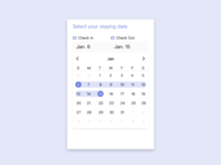 Date Picker | Daily UI 080