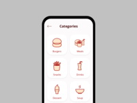 Categories | Daily UI 099