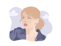 Self Portrait | Flat Illustration