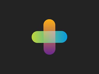 Plus icon logo