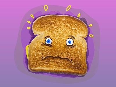 I'm Toast doodle linea ipad