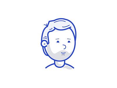 2019 Avatar illustration icon