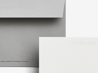 Envelope design for Layers-tudio.