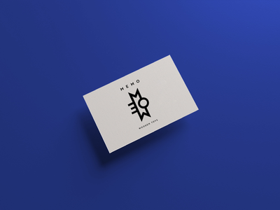 Business card for Memo