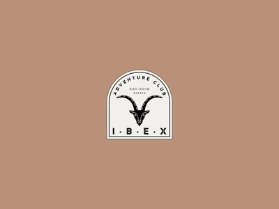 Ibex Adventure Club | Logo option No.2