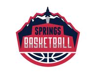 Springs Basketball Logo