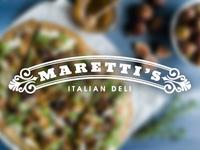 Maretti's Italian Deli Logo