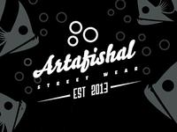 Artafishal Type Logo