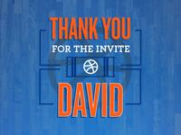 Thank You David!