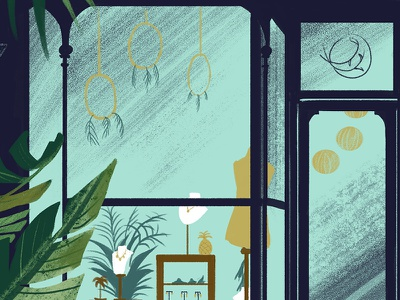 Alexis Dove Illustration digital shop. illustration jewellery
