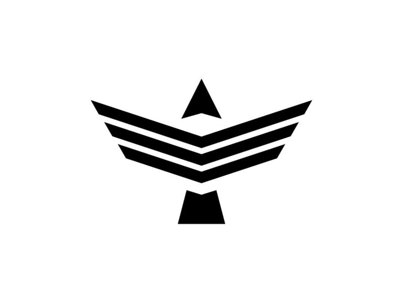 Altitude Plenus Worship altitude baptist ministry wings animal worship mountain mount arrow eagle symbol branding minimalist design logo