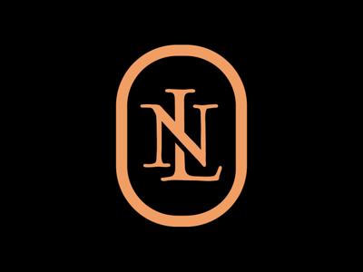 New Leste radical shop n l shape skate skateboard sport monogram type symbol branding minimalist design logo