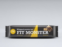 monster fit chocolate