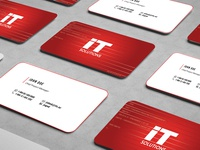 Business Card for IT Solutions