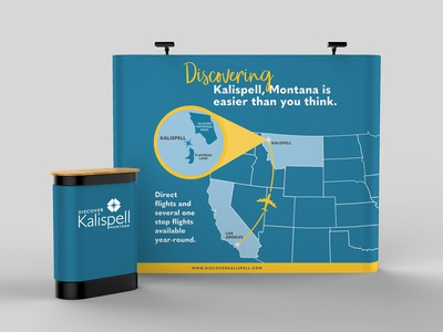 Discover Kalispell Trade Show Collateral