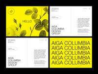 AIGA Columbia post cards