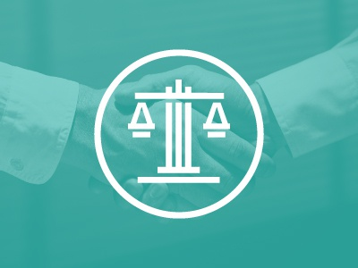Killed Scale Logo scale justice lawyer law scales pillar column monoline minimal