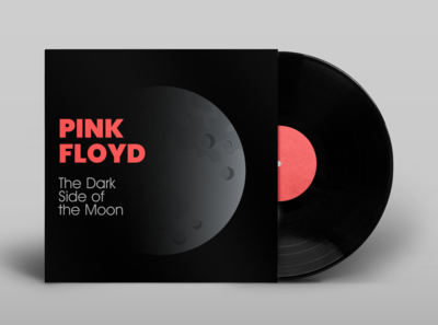 """Pink Floyd """"The Dark Side of the Moon"""" Album Cover"""