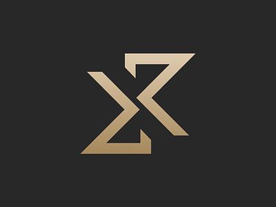 Kristopher Ray Anagram Logomark anagram branding vector logo