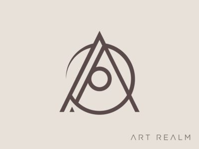 Art Realm Tattoo and Fine Art Gallery Logomark