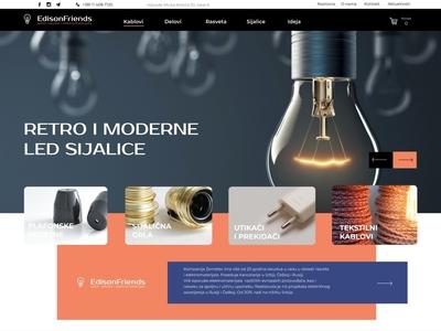 Lamp store concept site