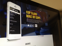 Cop Slang App