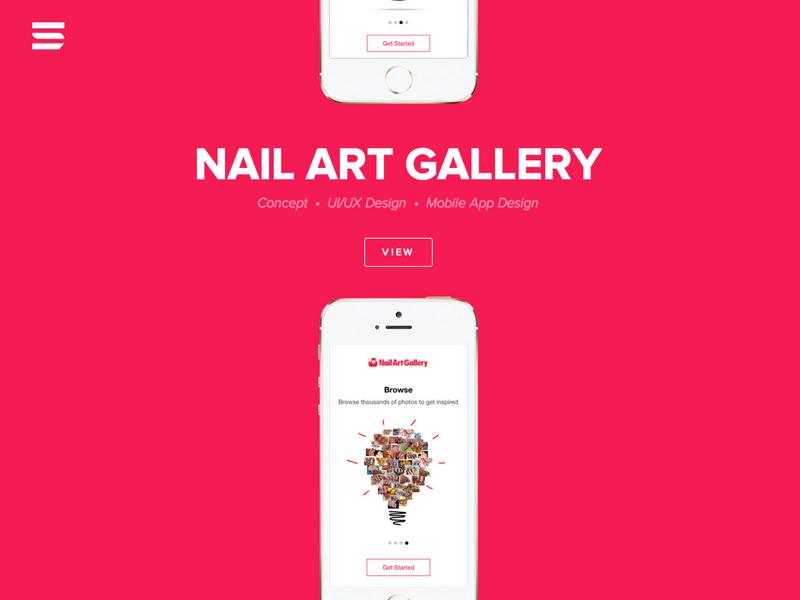 Nail Art Gallery by Endless Studio - Dribbble